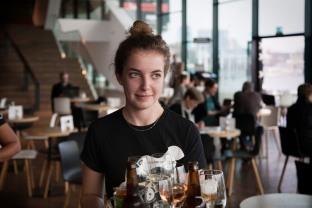 Ruby, 18 jaar, Eye Amsterdam.